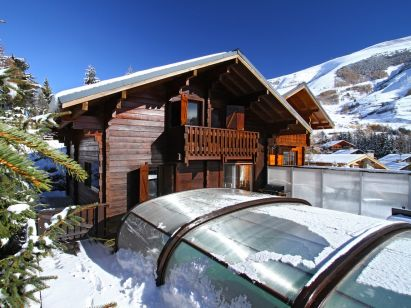 Chalet Le Ponton Mit Privatschwimmbad-1